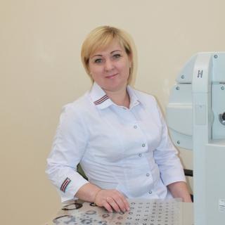 Медицинская сестра Ларина Надежда Николаевна